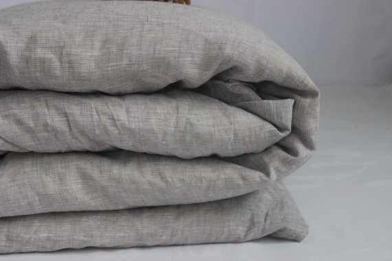 185х220 Пододеяльник 2 спальный Natural linen