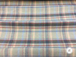 Умягченная плотная льняная ткань для одежды