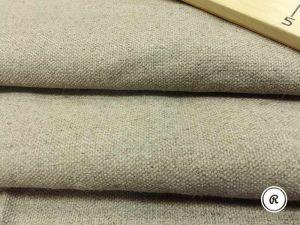 147 см. Мягкая ткань рогожка мебельная лен 100% 440 г/м