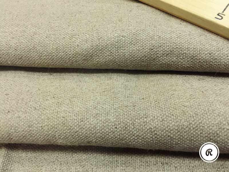 138 см. Мягкая рогожка мебельная лен 100% 440 г/м