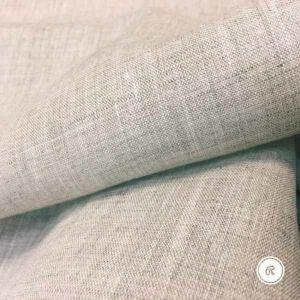 150 см. Лен Батист натурального цвета Slavic style 130 г/м