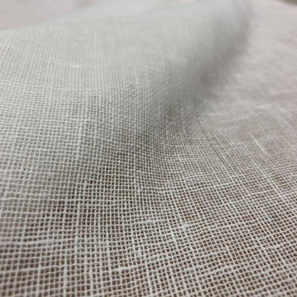 150 см. Ткань декоративная сеточка белого цвета