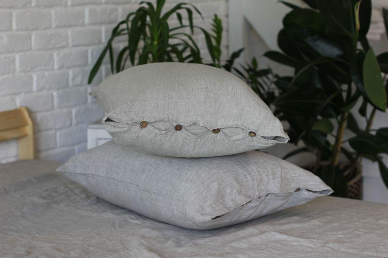50х70 Наволочка из мягкого льна Soft linen