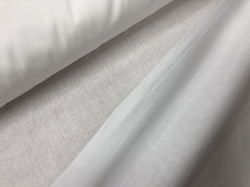150 см. Ткань хлопковая бязь отбелённая