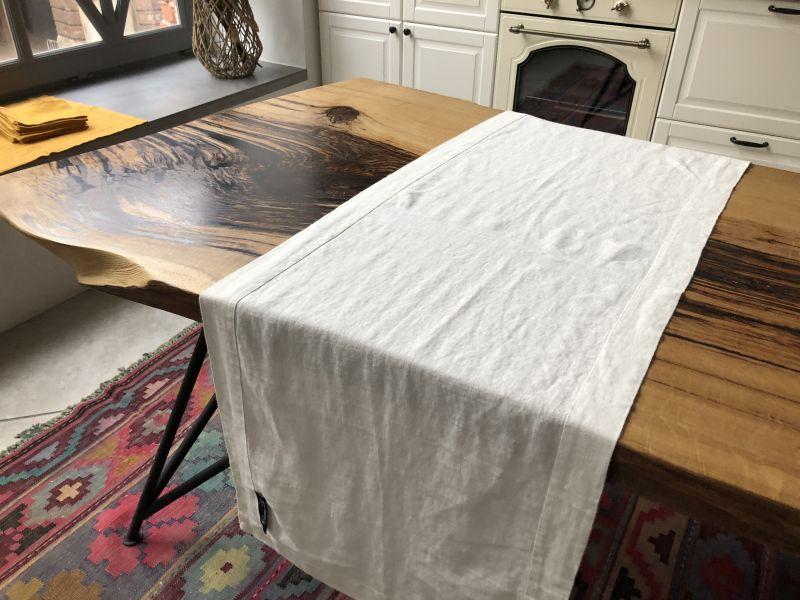 50х150 Дорожка на стол льняная