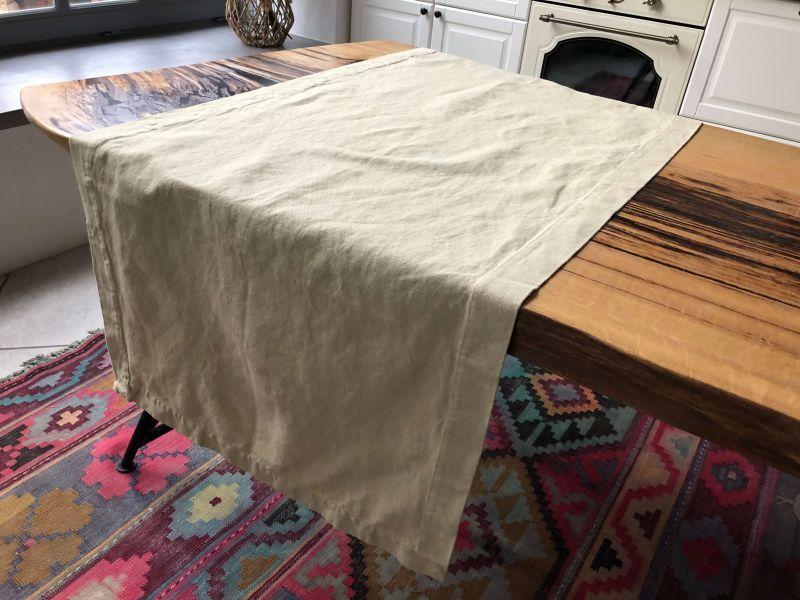65х165 Дорожка на стол из плотной ткани