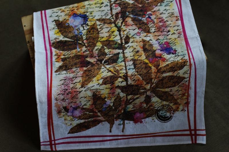 50х70 Кухонное полотенце Послание
