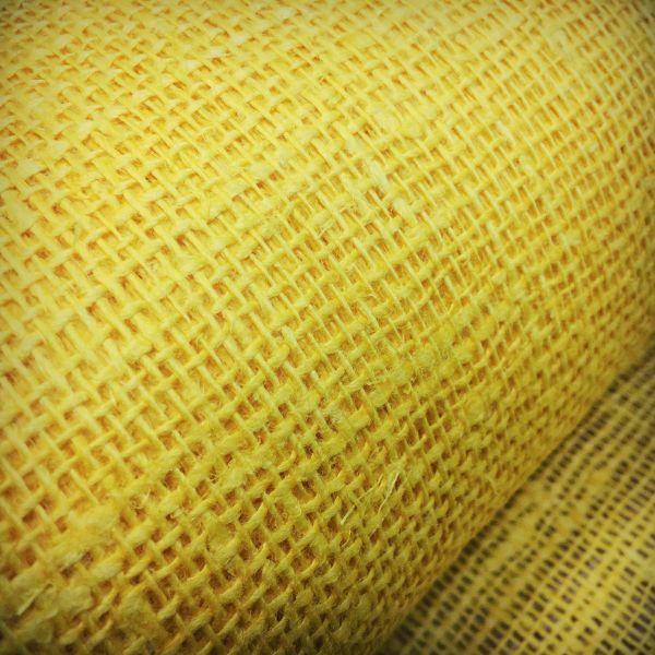 100 см. Жёлтая мешковина 210 г/м