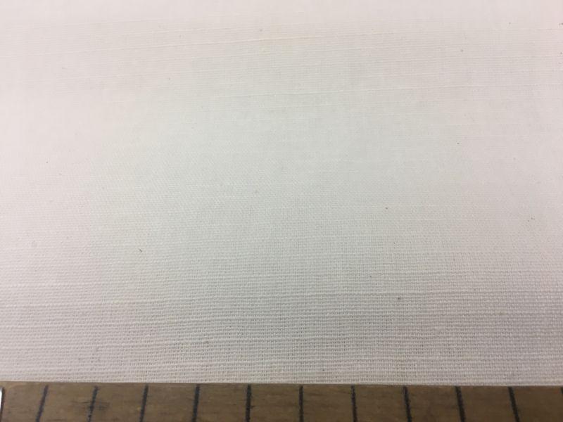 Белая льняная ткань 150 см.