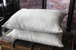 Подушка натуральный лён 50х70