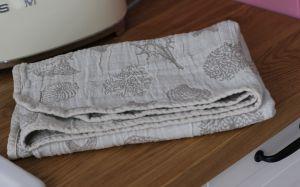 45х80 Полотенце для рук Ракушки