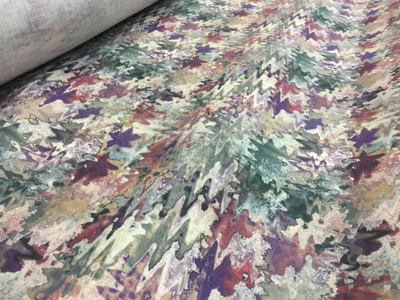 150 см. Льняная ткань для платья Color Wave
