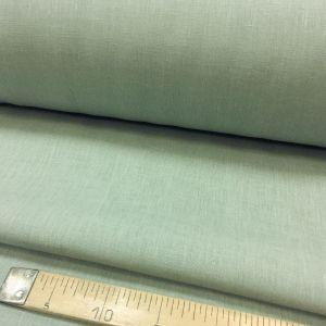 260 см. Льняная ткань для штор Грязный голубой