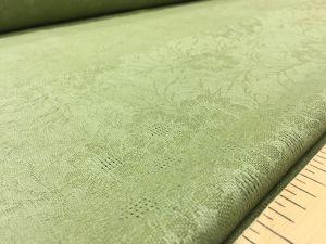 150 см. Зелёный жаккард для скатерти Green tablecloth