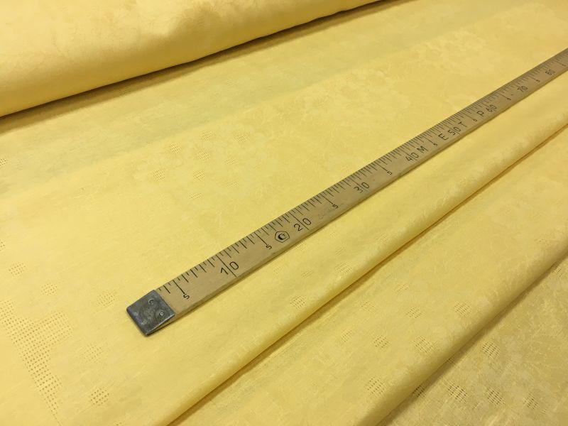 150 см. Жёлтый скатертной жаккард Amber tablecloth