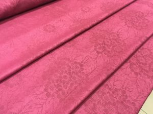 150 см. Ткань жаккард красный Red tablecloth