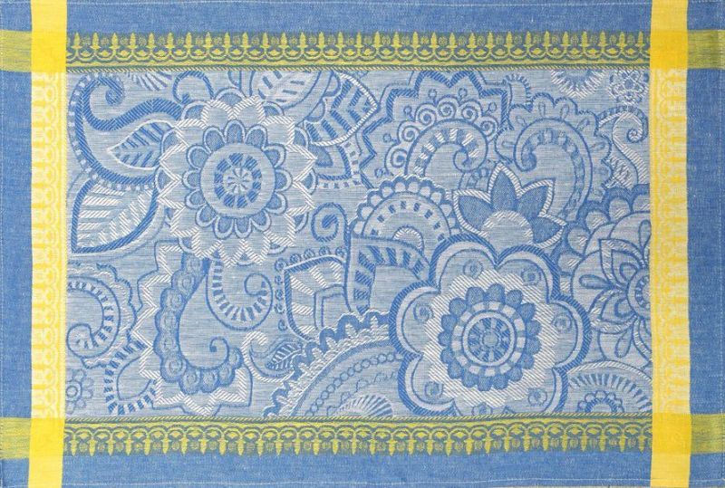48х70 Кухонное полотенце Ярмарка Синее