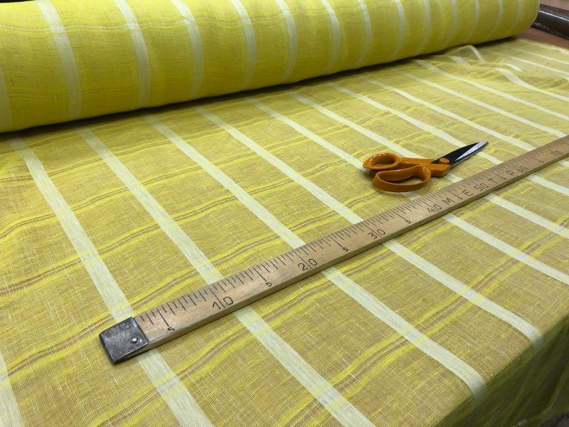 165 см. Тюль в полоску banana