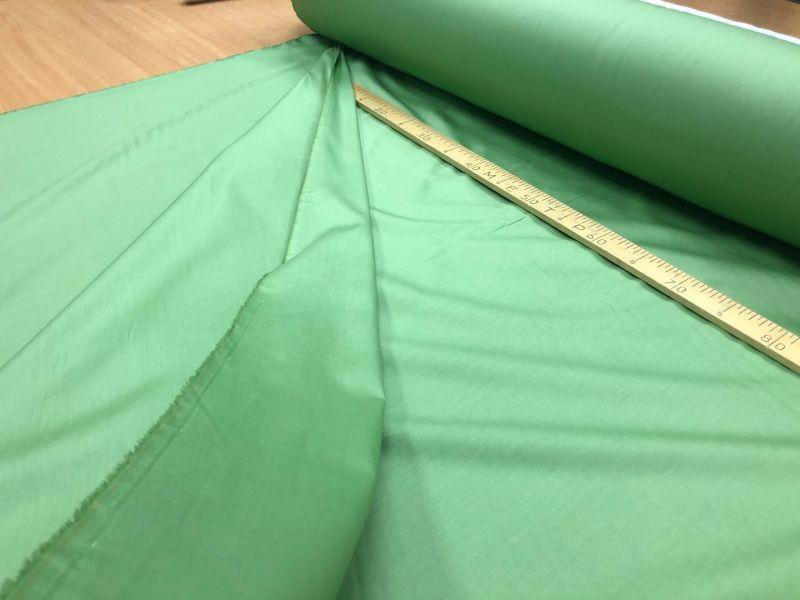 235 см. Ткань сатин для постельного Green