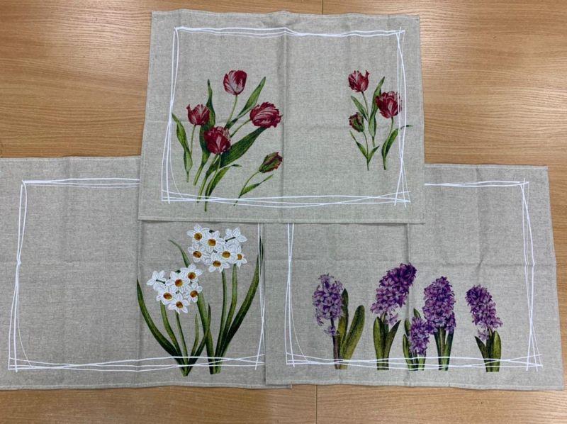 Набор кухонных полотенец Весенние краски 3шт