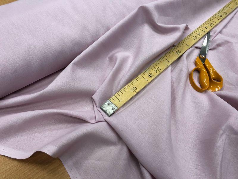 150 см. Лен с вискозой ткань для одежды Палевая роза