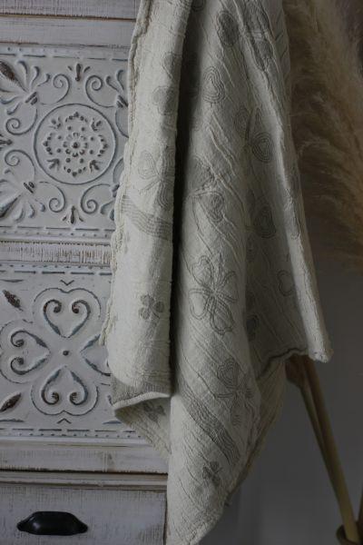 55х100 Банное полотенце Клевер