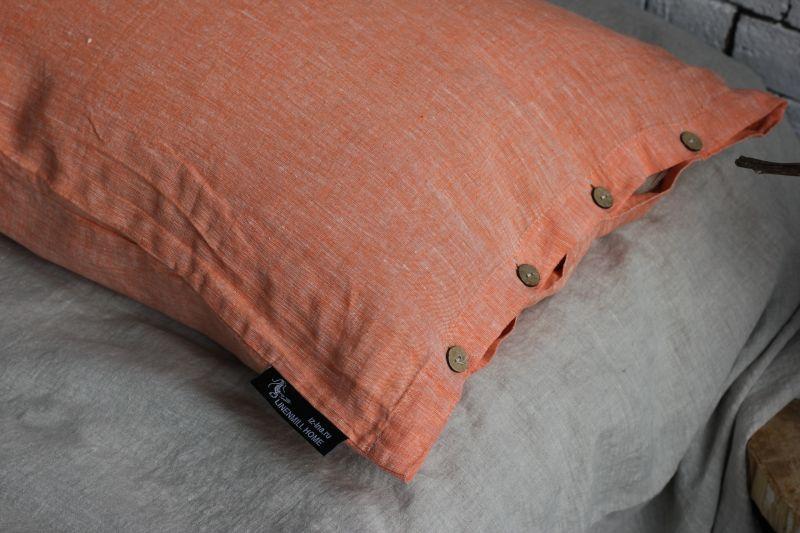 50х70 Наволочка меланж Orange