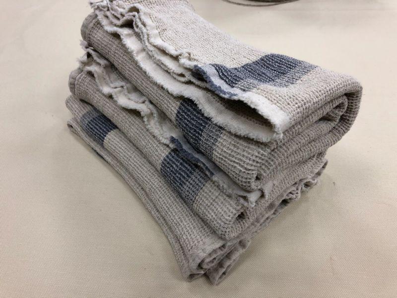 65х120 Банное вафельное полотенце Ямайка