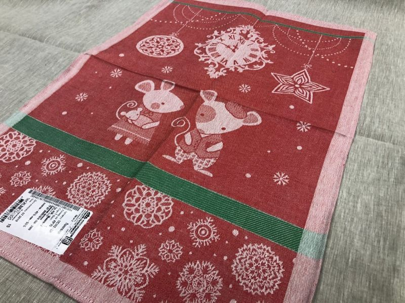 49х70 Полотенце с новогодней тематикой