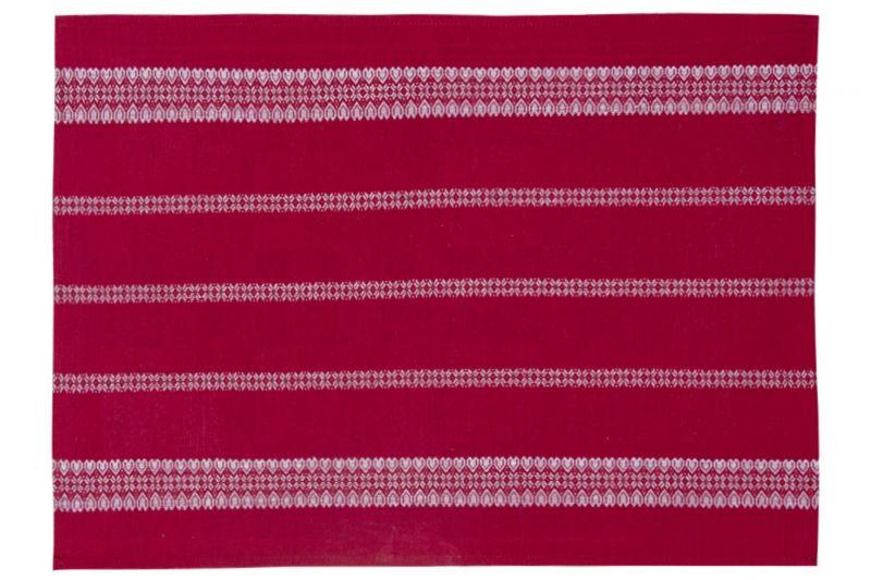 45х65 Льняное полотенце Святочнае