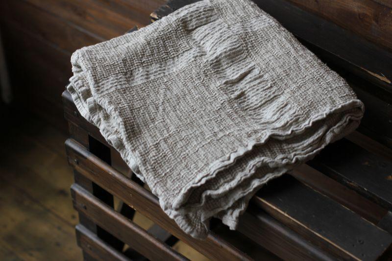 65х135 Вафельное полотенце банное
