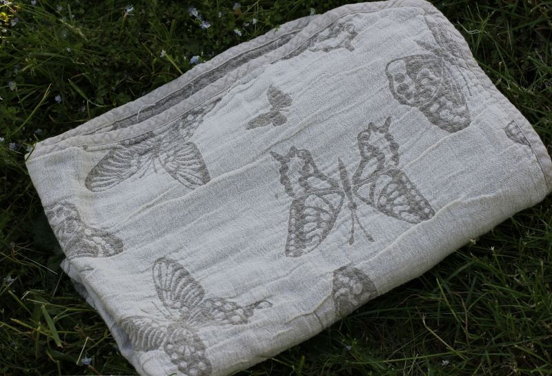 40х70 Полотенце для рук Butterfly