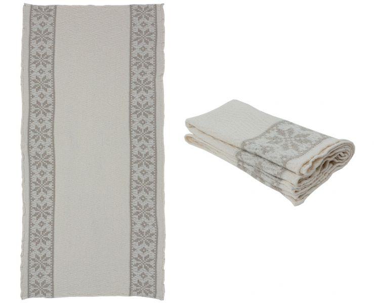 130х65 Банное полотенце Орнамент