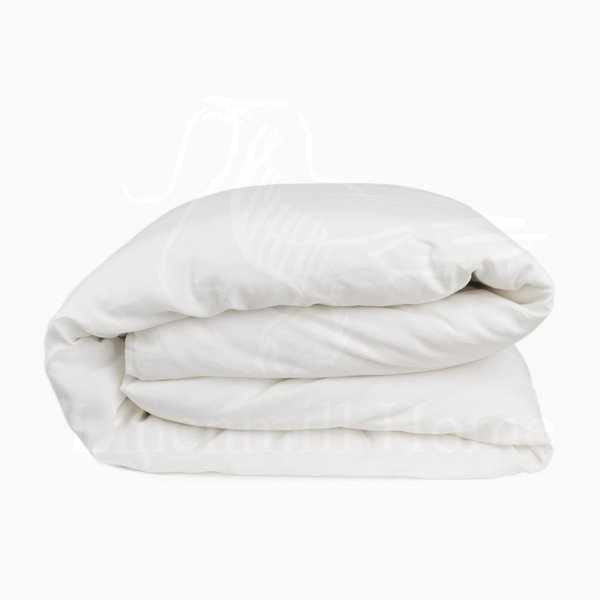 150х205 Белый льняной пододеяльник Natural Linen