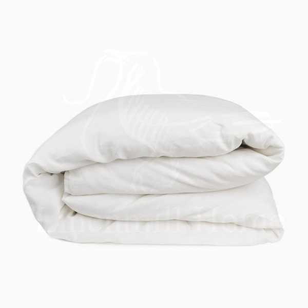150х220 Белый льняной пододеяльник Natural Linen