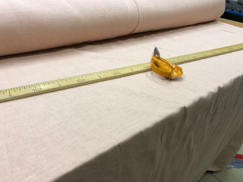 150 см. Мягкая ткань для штор Персикового цвета