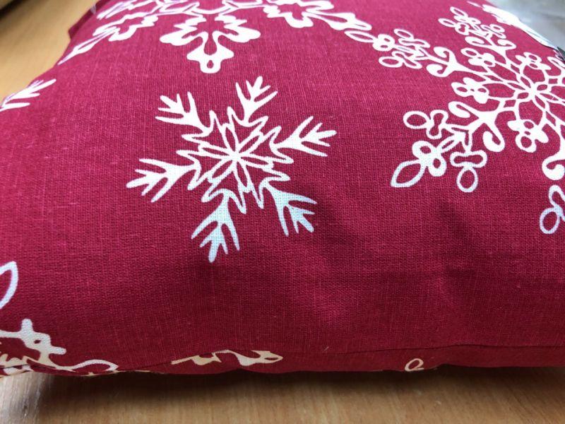 40х40 Новогодняя декоративная подушка