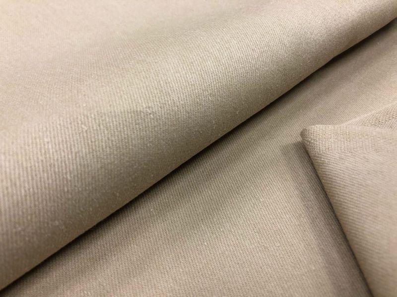 150 см. Ткань твил бежевого цвета