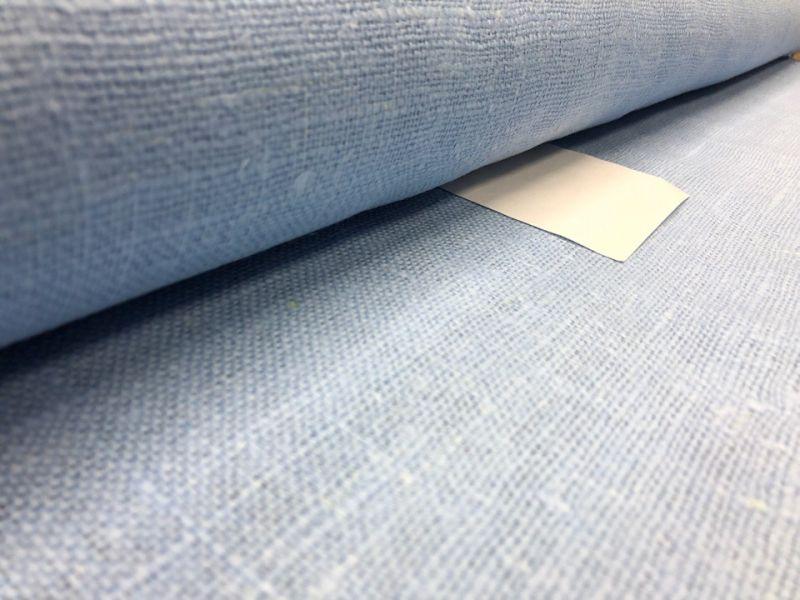 100 см. Мешковина голубого пастельного цвета 360 г/м