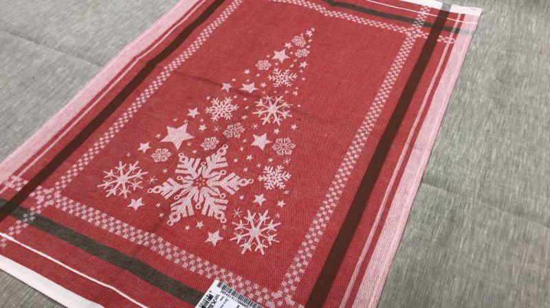 49х70 Новогодние полотенце Мишура