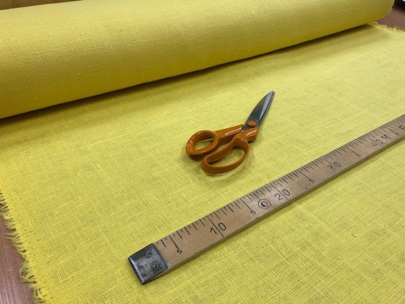 100 см. Желтая мешковина 360 г/м