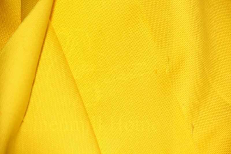150 см. Мебельный лен желтый (рогожка)
