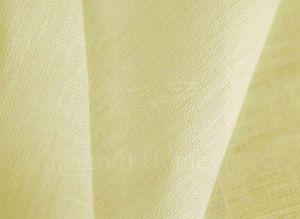 """Плотная льняная ткань для штор цвета """"Слоновая Кость"""" (100% лен)"""