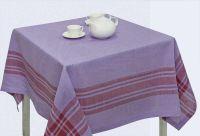"""Скатерть на квадратный стол """"Традиция Purple"""" 150х150"""