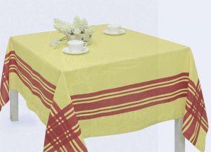 """Скатерть на квадратный стол """"Традиция Yellow"""" 150х150"""