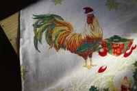 """Новогоднее полотенце """"Год Петуха"""""""