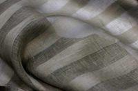 260 см. Широкий льняной тюль (вуаль) стальной