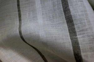 Ткань интерьерная тюлевая с поперечной полосой