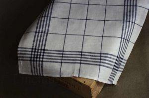 "Кухонное полотенце ""Мадрас blue"""