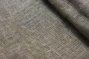 Льняная мешковина редкого плетения 225 г/м
